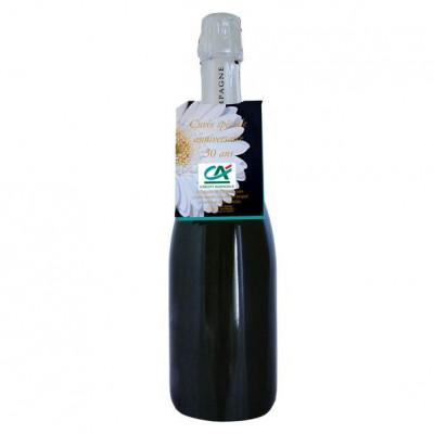 Sachet de graines personnalisés publicitaire, goodies écologiques, objet pub nature, accroche bouteille, communication