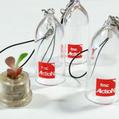 Babyplante personnalisée par tampographie 1 couleur objet publicitaire goodies écologique